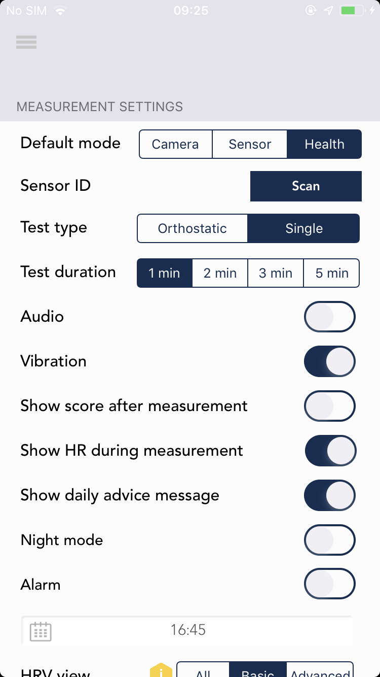How to use HRV4Training with an Apple Watch