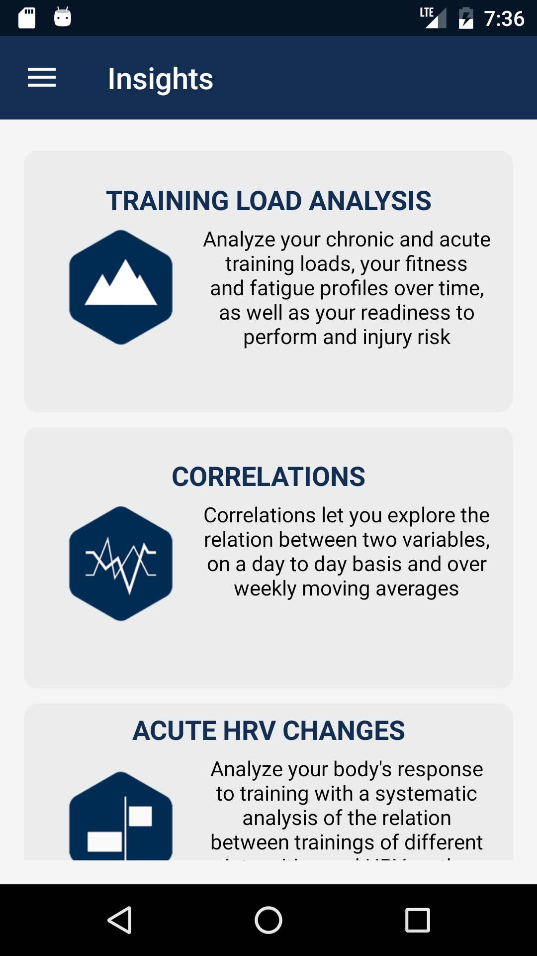 Blogger Feature Involving Color And Involving Home: HRV4Training On Android